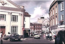SU3521 : Romsey Corn Exchange & Abbey Tower by Stephen Elwyn RODDICK