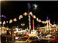 NS5965 : George Square, Glasgow. Christmas lights 2005 by Johnny Durnan