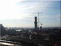 SE2932 : Bridgewater Place, under construction, Leeds. by Steve Partridge
