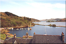 NR7992 : Crinan Canal and Bellanoch basin by Martin Southwood