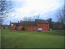 SP3453 : Outbuildings, Chadshunt House by David Stowell
