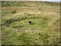 SD9817 : Rain gauge near Rishworth Drain by Phil Champion