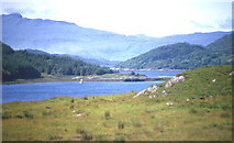 NM6356 : Loch Teacuis narrows by Martin Southwood