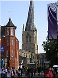SK3871 : Chesterfield's Crooked Spire by Andrew Loughran