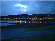 NG2547 : Dunvegan from Kinloch campsite by NessabyRedWeb