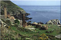 SH4094 : Porth Wen Brickworks, Anglesey by Chris Allen