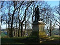 NY5361 : Howard Monument the Motte, Brampton by Clive Nicholson