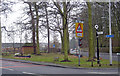 SD3628 : Junction of Ballam Road & Park View Road, Lytham by Paul Twambley