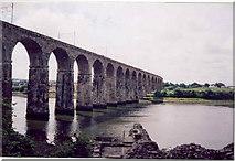 NT9953 : The Royal Border Bridge by Stafford Little