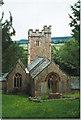 ST1935 : Aisholt Church by Dave D