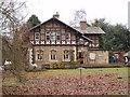 TL1948 : Entrance Lodge, RSPB reserve, Sandy by Martyn Johnson