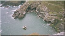 SX0589 : Tintagel Haven by Rob Taylor