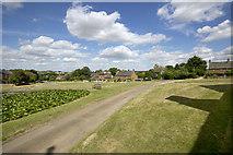 SP4147 : Warmington Village Green by Ben Nicholson