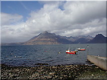 NG5113 : Elgol Jetty by Dave Fergusson