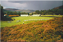 NO1491 : The Royal Highland Games Arena, Braemar by Colin Smith