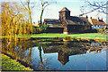 TQ2250 : Buckland, Village Pond by Colin Smith