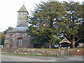SJ4360 : St. Mary's Church, Bruera by Stephen Charles