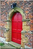 TA0015 : St. Andrew's, Bonby - Doorway by David Wright