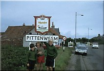 NO5402 : Main road into Pittenweem from the west by James Allan