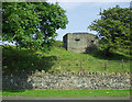 NU2519 : Pillbox near Craster by Phil Champion
