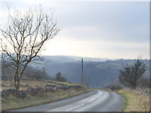 SK2756 : Looking over the Via Gellia from Middleton by Wirksworth. by Mike Fowkes