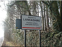 SD6178 : You are now leaving Cumbria, where..... by David Medcalf