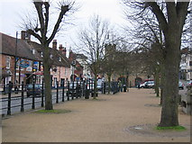 SP6934 : Buckingham, with the museum by Pip Rolls