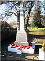 TA0509 : War Memorial, Barnetby-Le-Wold by David Wright