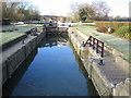 SP4408 : River Thames: Eynsham Lock by Nigel Cox