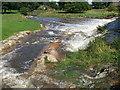 NY6216 : lyvennet in flood by Tim Leete