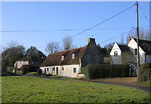 TF9226 : Cottage, Hall Lane, Colkirk, Norfolk by Rodney Burton