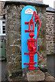 SW8036 : Old water pump in Mylor Bridge by Philip Halling