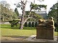 SX7962 : Dartington Hall Gardens by Derek Harper
