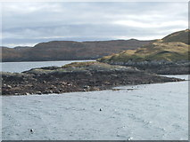 NG2195 : Seal Colony at the entrance to South Harbour, Scalpay by David Wake