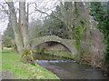 NY4143 : Packhorse Bridge by Bob Jenkins