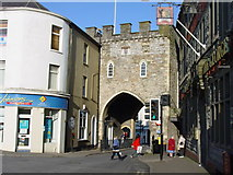 ST5393 : Town Gate, Chepstow by Colin Park