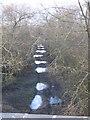 SU0795 : Bridleway on old railwayline near Cerney Wick by Peter Watkins