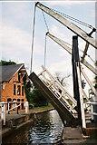 SJ5848 : Llangollen Canal - Wrenbury Lift Bridge by Pierre Terre