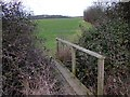 TL0275 : Footpath to Denford Ash by Will Lovell