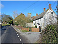 ST9917 : Houses Sixpenny Handley Dorset by Clive Perrin