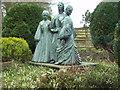 SE0237 : Bronte Sisters statue, Haworth Parsonage by Rich Tea
