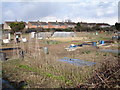 SP0663 : Allotment  gardens near Studley by peter lloyd