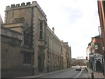 SP5074 : Rugby - Lawrence Sheriff Street by Ian Rob