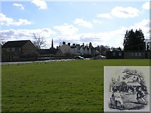 TQ6757 : The Old Cricket Ground, West Malling by Hywel Williams
