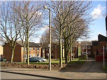 SE1321 : Council housing, Chapel Croft, Rastrick (SE 138 213) by Humphrey Bolton
