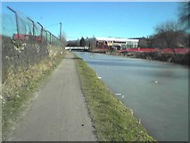 SE1537 : View along Leeds and Liverpool Canal, Shipley by Rich Tea
