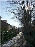 SE1321 : Field Lane, Rastrick (SE137218) by Humphrey Bolton