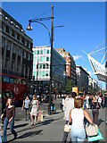 TQ2881 : Oxford Street, W1 by Danny P Robinson