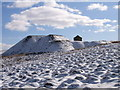 NY7746 : Spoil heaps, Wellhope Moor by Andrew Smith