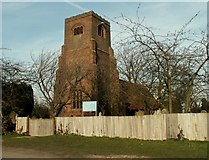 TL9011 : St. Nicholas' church, Tolleshunt Major, Essex by Robert Edwards